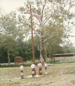 Raising the First Flag (1986)